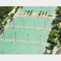 Naoki Honjo (Japanese, b. 1978)      Hong Kong, China (Soccer Fields)