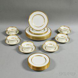 Minton Porcelain Partial Dinner Service