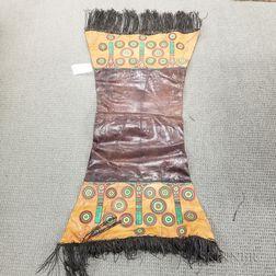 Leather Saddle Blanket