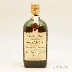 Dewars Ne Plus Ultra, 1 26.5 oz. bottle
