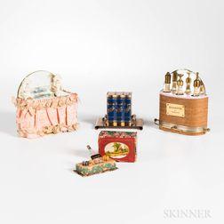 Four Vintage Figural Perfumes