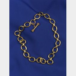18kt Gold Link Chain