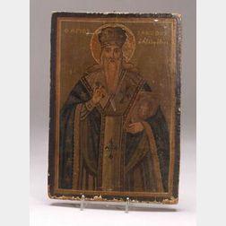 Greek Icon of St. Jacob
