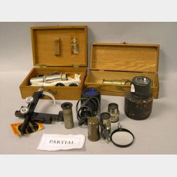 Lot of Microscopy Equipment