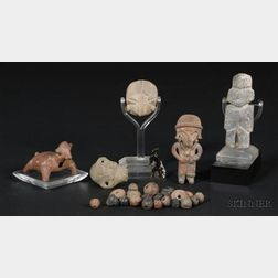 Seven Pre-Columbian Items