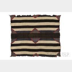 Navajo Third Phase Chief's Blanket