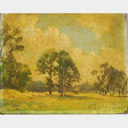 Stacy Tolman (American, 1860-1935)      Summer Landscape