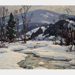 Aldro Thompson Hibbard (American, 1886-1972)      Late Afternoon at Rawsonville, Vermont