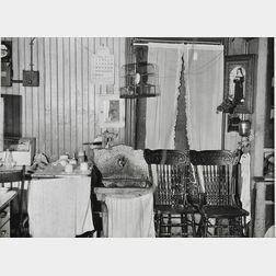 Walker Evans (American, 1903-1975)      New York City Tenement Kitchen