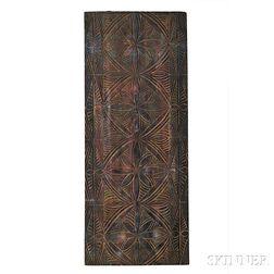 Samoan Island Tapa Pattern Board