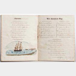 American Songs, Maritime Themes, Manuscript on Paper, c. 1820-1840.