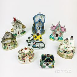 Eight Small Staffordshire Cottages