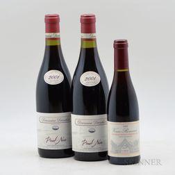 Mixed Burgundy & Pinot Noir, 3 bottles 1 demi bottle