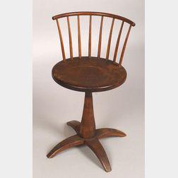 Shaker Maple, Birch, and Pine Revolving Chair