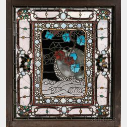 Mosaic Glass Window, Possibly John La Farge