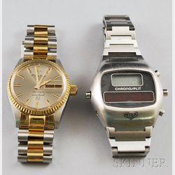 Two Modern Gentleman's Wristwatches