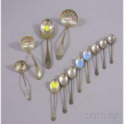 Twelve Sterling Silver Flatware Items