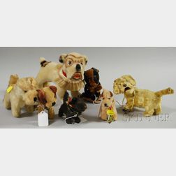 Seven Miscellaneous Toy Dogs