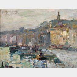 Maurice Bompard (French, 1857-1936)      Venice Quai