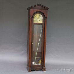 Royal Furniture Co. Mahogany Tall Case Clock