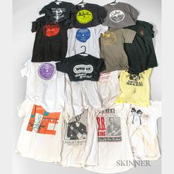 Sixteen T-shirts
