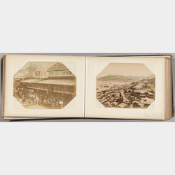 Photograph Album with Forty-three Photographs