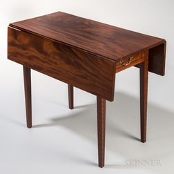 Inlaid Mahogany Pembroke Table