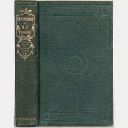 Thoreau, Henry David (1817-1862) Excursions  , Association Copy Signed by Ebenezer Rockwood Hoar (1816-1895).