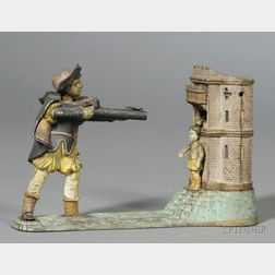 Cast Iron William Tell Mechanical Bank