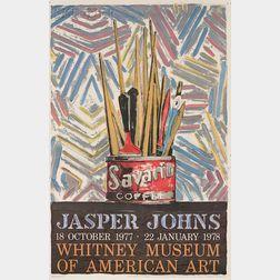 After Jasper Johns (American, b. 1930)      (Savarin) Whitney Museum of American Art