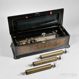 Paillard & Co. Six-air Interchangeable Cylinder Musical Box