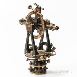 Cooke, Troughton & Simms Lacquered Brass Theodolite