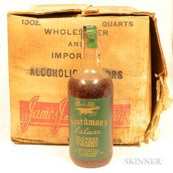 Boardmans DeLuxe 4 Years Old, 12 quart bottles (oc)