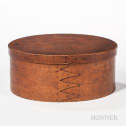 Large Oval Shaker Pantry Box