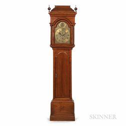 Nathaniel Mulliken Butternut Tall Clock