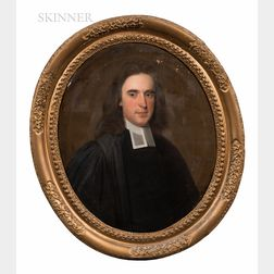 British School, 18th Century      Portrait of a Clergyman