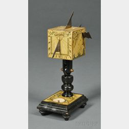 Beringer-style Wooden Polyhedral Sundial