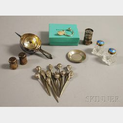 Group of Assorted Small Silver and Silver-plated Articles