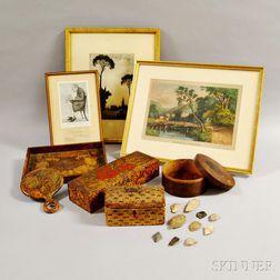 Eighteen Decorative Items