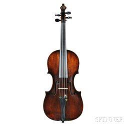 German Violin, Markneukirchen School, 18th Century