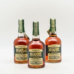 Henry McKenna 10 Years Old, 3 750ml bottles