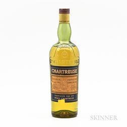 Yellow Chartreuse, 1 4/5 quart bottle