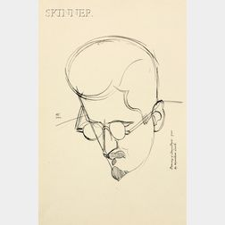 Percy Wyndham Lewis (British, 1882-1957)      THIRTY PERSONALITIES AND A SELF PORTRAIT
