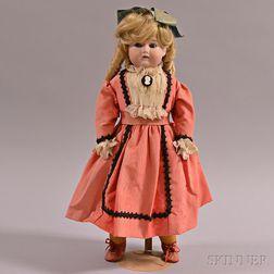 Bisque Shoulder Head Doll