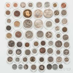 Group of Assorted Modern World Coins
