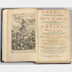 Ogilby, John (1600-1676) America: Being the Latest, and Most Accurate Description of the New World; Containing the Original of the Inha