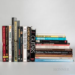 Collection of Guitar Books