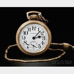 Hamilton 992B 21-jewel Open Face Watch