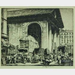 Stanley Anderson (British, 1884-1966)      St. Paul's, Covent Garden