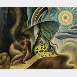 Kimon Nicolaïdes (American, 1892-1938)      Hand of Fate (Cruel Hand), Whitman Series